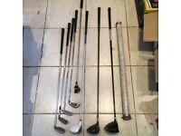 Golf Clubs - Titleist, Tom Watson, Dunlop, Simmons, Petron Impala