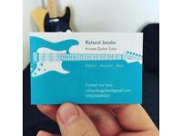 Richard Jacobs - Mobile guitar tutor (Basingstoke)