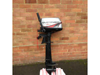 Mariner outboard engine 5 hp 4 stroke engine. Not other knowledge so please don't ask.