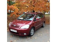 TOYOTA AVENSIS. VERSO. GLS D-4D 7. SEATER. DIESEL. MPV