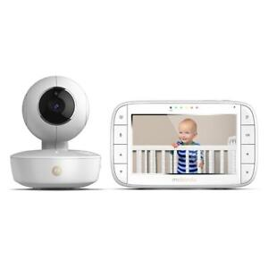 "Used Motorola MBP36XL Portable Color Screen Video Baby Monitor, 5"", White"