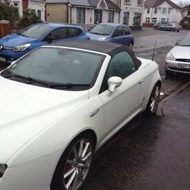 Alfa spider 939 in white elec windows elec hood abs ant skid air con leather seats elec seats