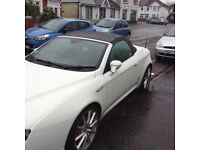 Alfa spider 939 in white elec windows elec hood abs ant skid air con leather seats elec seats