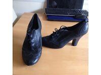 Black 1960s shoes