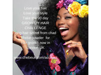 Spending too much on weaves and hair products that don't work? Try Natural 100% Chebe powder