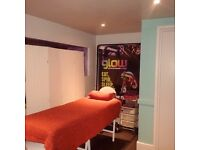 Beauty Space to rent in vibrant fitness studio suit beautician/massage therapist