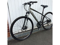 mountain bike carrera crossfire hybrid