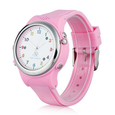 Unlocked SIM Phone Bluetooth Wrist Watch GPS LBS Location Kids Activity Tracker