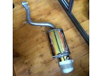 BMW X5 stainless steel exhaust