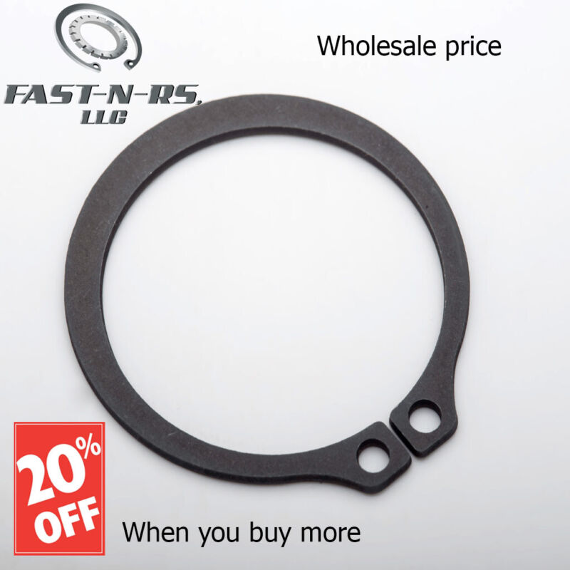 """External Retaining Ring / Snap Ring 1-3/16"""" (Pack of 500) Phosphate Finish"""