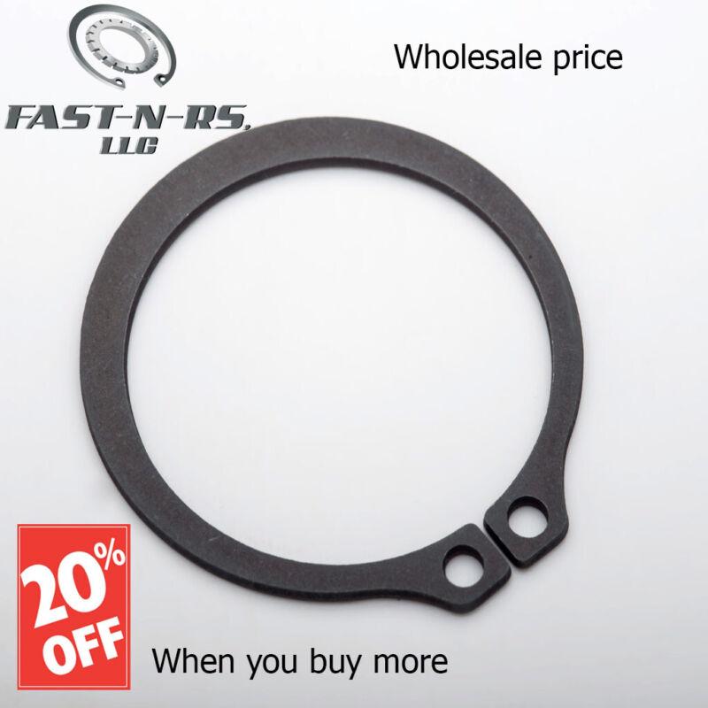 "External Retaining Ring / Snap Ring 7/8"" (Pack of 750) Black Phosphate Finish"