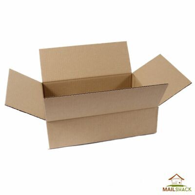25 STRONG SINGLE WALL CARDBOARD BOXES 12 x 9 x 3