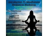 Counselling & Mindfulness Meditation Workshops