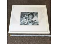 IKEA LARGE WHITE PICTURE / PHOTO / ARTWORK HANGING FRAME