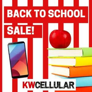 Back to School Promotion on New and Used Smartphones @ KW Cellular!
