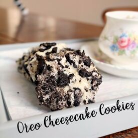 OREO CHEESECAKE COOKIES FOR SALE + more desserts! We cater to parties and events!
