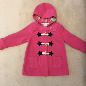 Girls pink Next coat 3-4 years