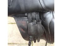 General Purpose saddle, 16 1/2 inch, medium to wide fit.