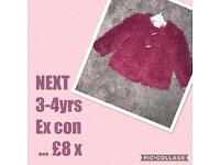 NEXT 3-4 years Berry fur coat ❤️