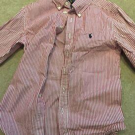 Kids age 8 Ralph Lauren shirt