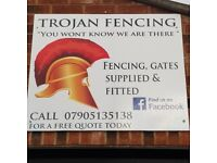 Fencing, Gates and Decking services -Free quotations available