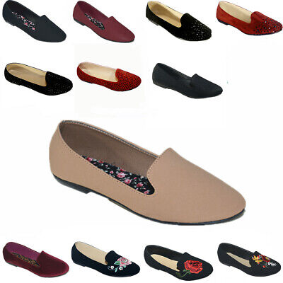 1ee195b6b New Women Ballet Flats Shoes Casual Comfort Slip On Boat Loafers Shoes