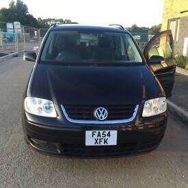 Volkswagen Touran 1.6 FSI SE 7 SEATER 5 DOORS 2005