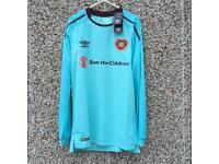 Heart of Midlothian Football shirt small adult