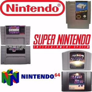 Cleverdrive 8, Super Everdrive V2, Sd2Snes, Cleverdrive 64, Everdrive 64