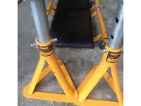 Axle stands and body Trolley
