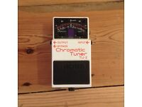 Boss Chromatic Tuner TU-2 guitar pedal