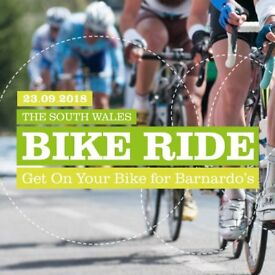 On Your Bike for Barnardo's - South Wales Bike Ride