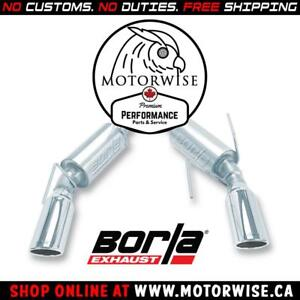 Borla S-Type Axleback Exhaust | 2005 to 2009 Ford Mustang GT & Shelby GT500 | Shop & Order Online at motorwise.ca