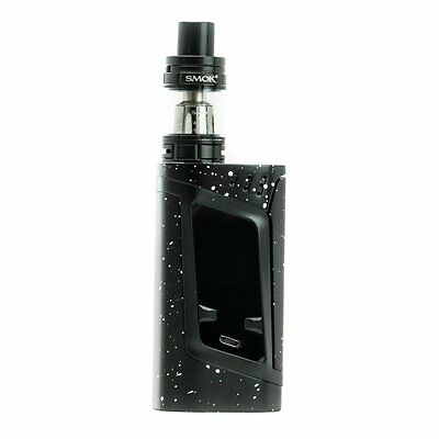 Authentic Smok Alien 220w kit with TFV8 Baby Beast - Black / SPLATTER White