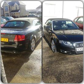 Audi A4 Convertible 2L **quick sale**