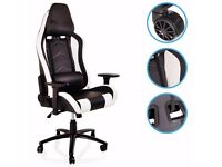 brand new GAMING LUXURY RECLINING SPORT RECLINER CHAIR