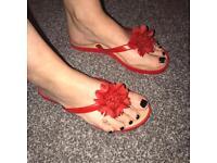 Flip flops x 2
