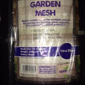 Suregreen strong plastic mesh for fencing, pet safety, plant, tree support