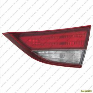 Trunk Lamp Passenger Side (Back-Up Lamp) Led Sedan Us Built High Quality Hyundai Elantra 2014-2016