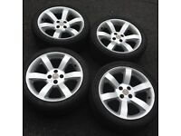 "ALLOY WHEELS 16"" & TYRES (LOW Profile) SET of 4 from MGF"