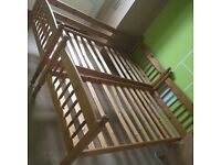 2X single wooden beds FOR SALE!