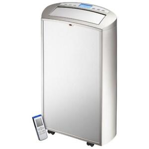 Insignia Portable Air Conditioner - 14000 BTU - Silver/Stainless Steel