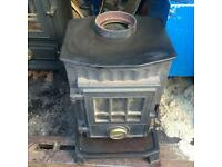 MULTIFUEL STOVE COALBROOKDALE LITTLE WENLOCK. GREAT CONDITION. CAN DELIVER.