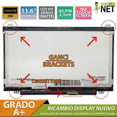 Monitor Schermo LCD da 11.6 pollici per DELL ALIENWARE M11X R3 40...