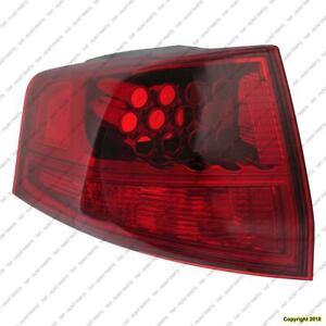 Tail Light Driver Side High Quality Acura MDX 2010-2013