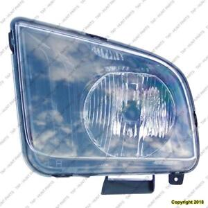 Head Lamp Driver Side CAPA Ford Mustang 2005-2006