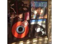 """7"""" vinyl records x 4"""