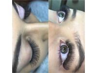 Volume eyelash extensions £35