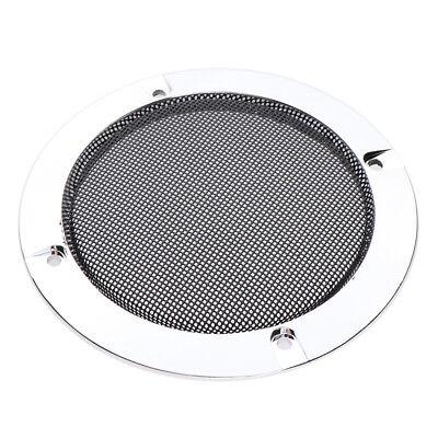 Home Car Audio Lautsprecher Mesh Grille 4 Zoll Metall dekorative Abdeckung (Car-audio-lautsprecher 4 Zoll)