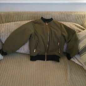 Girls Bomber jacket. Age 12